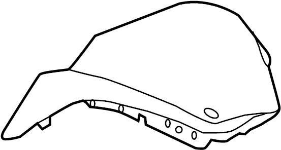2014 Hyundai EQUUS Instrument Panel Pad. W/SPORT, gray