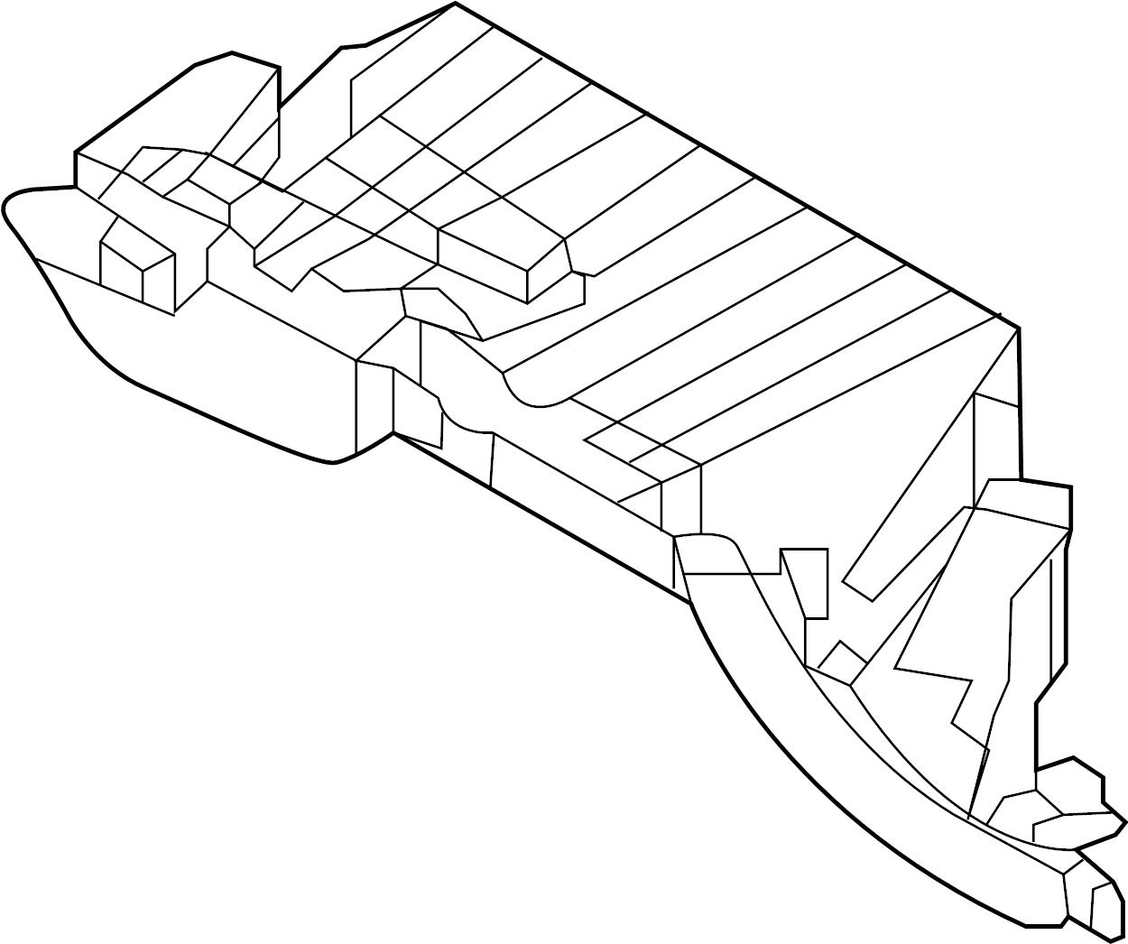 Hyundai Santa Fe Glove Box Bracket Glove Box Frame
