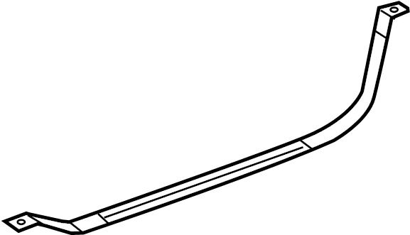 2015 Hyundai Santa Fe Fuel Tank Strap. Tank strap