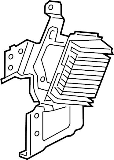 2017 Hyundai Genesis G80 Amplifier. Radio Amplifier