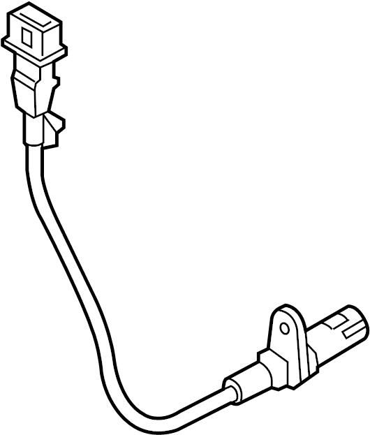 2015 Hyundai Sonata Engine Crankshaft Position Sensor