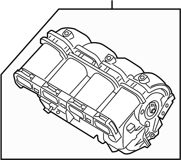Hyundai Sonata Engine Intake Manifold. PZEV, ULEV