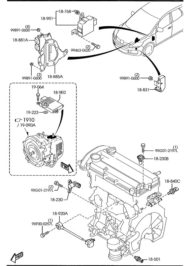 2009 Mazda Cx 7 Engine Diagram. Mazda. Auto Wiring Diagram