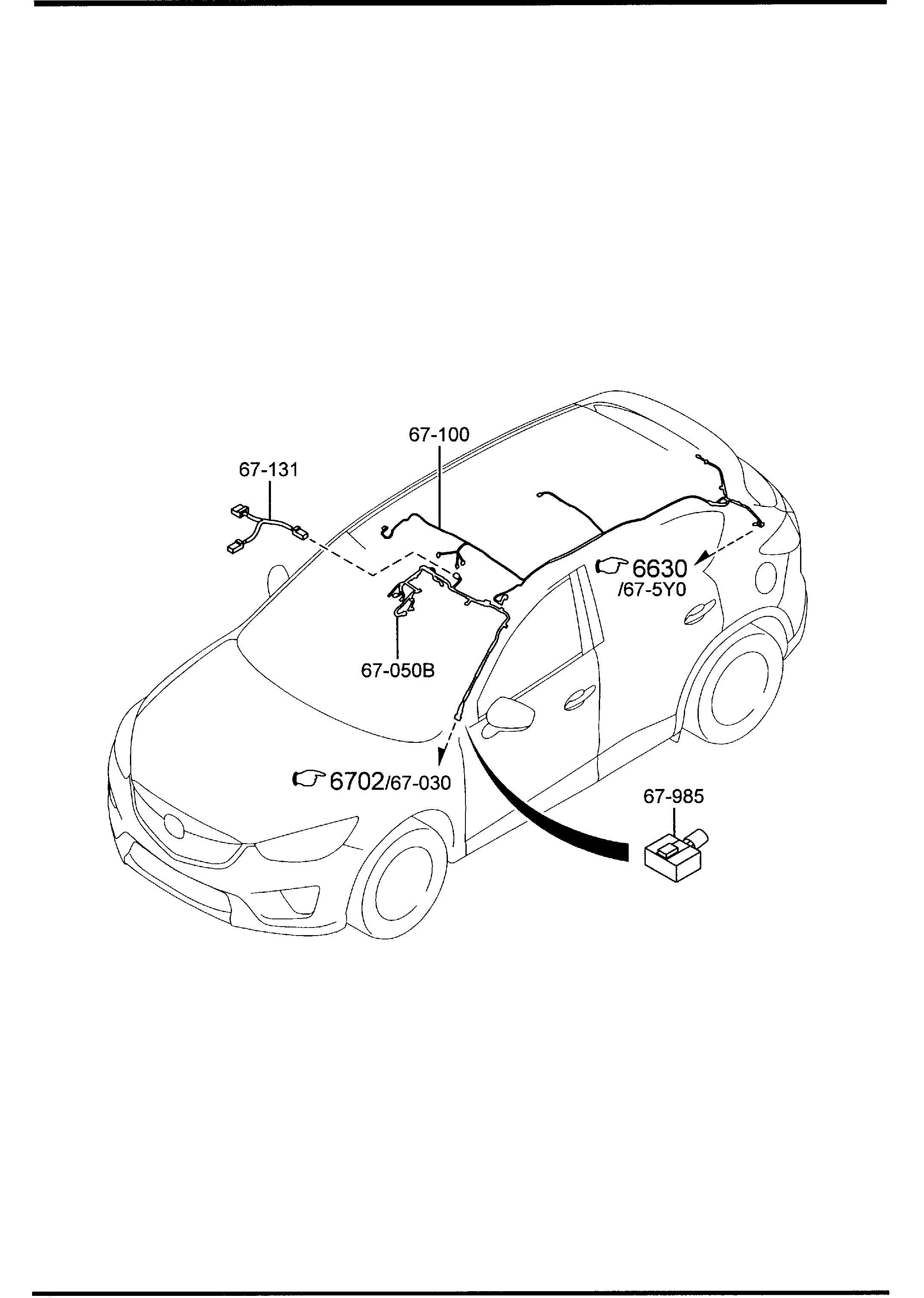 Mazda Cx 5 Cord Short
