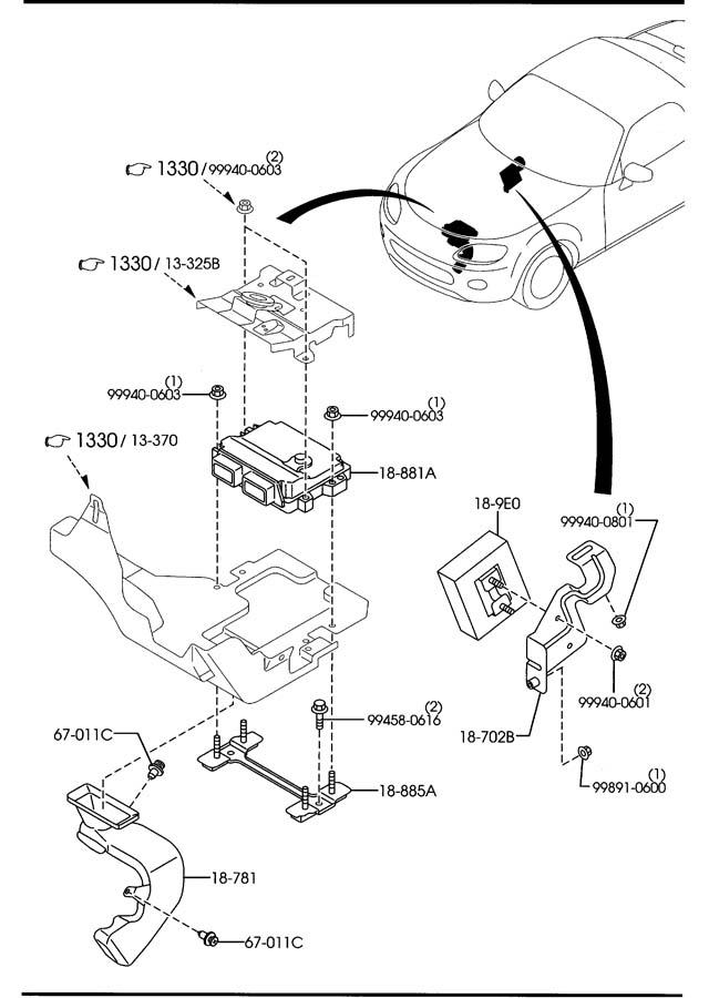 [DIAGRAM] Repair Manual Mazda Miata 1996 Wiring