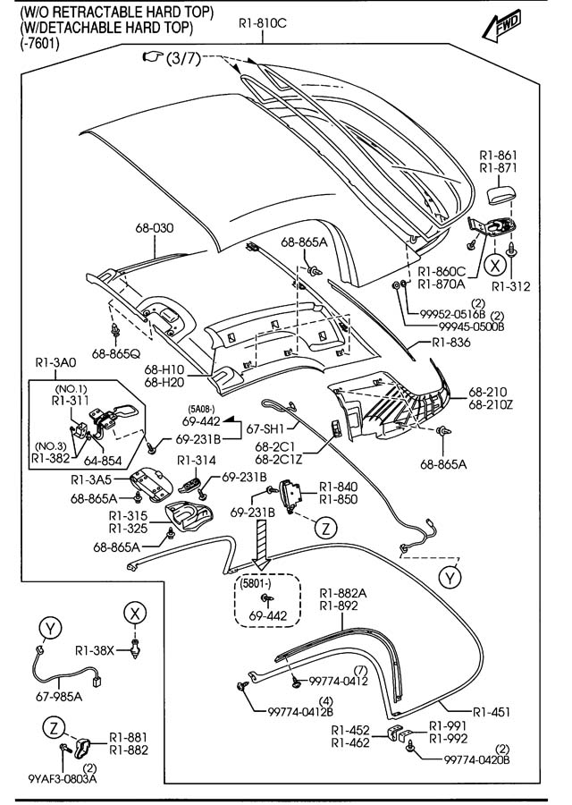 Wiring Diagram: 28 Mazda Miata Parts Diagram