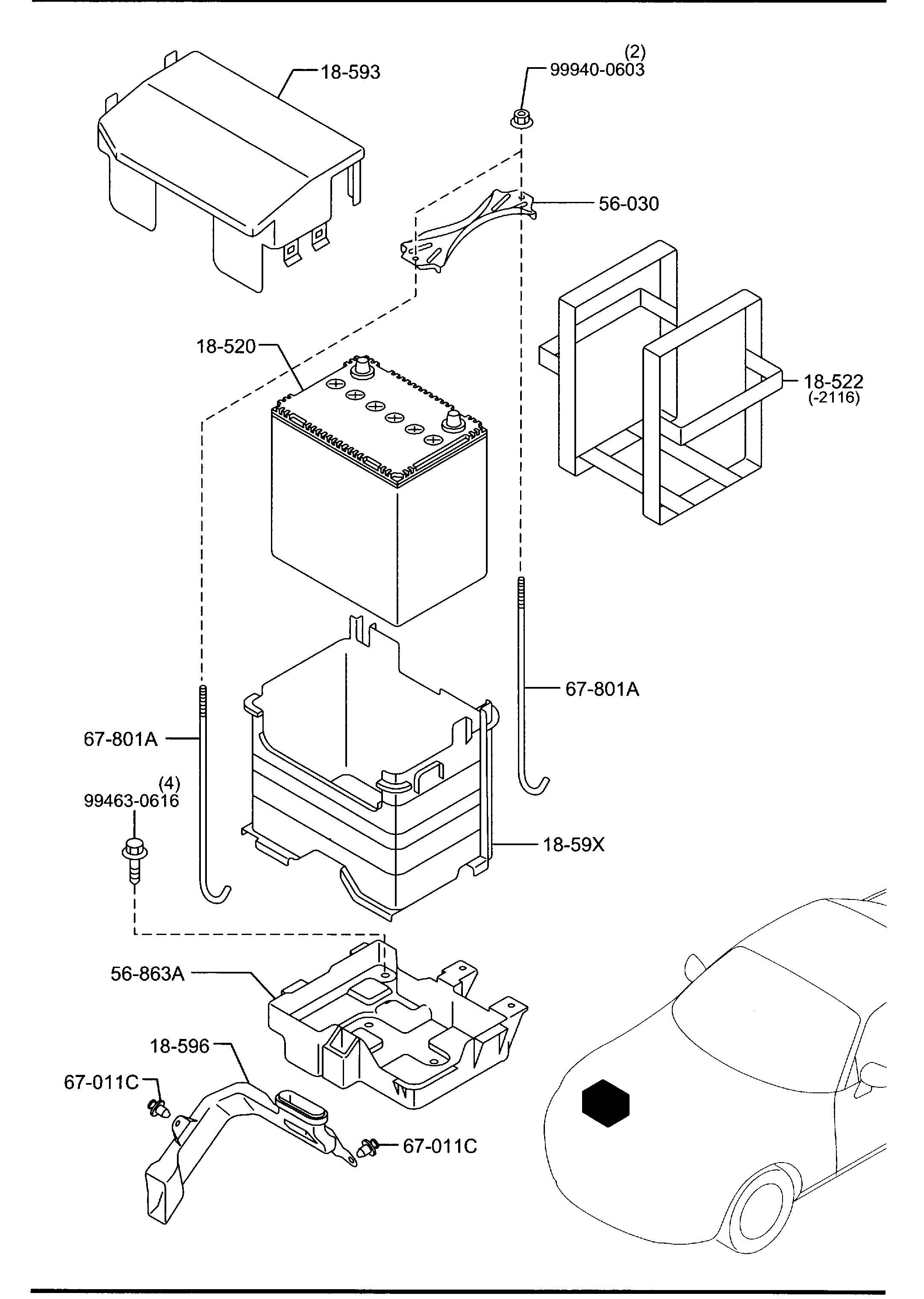 Mazda Battery Panasonic