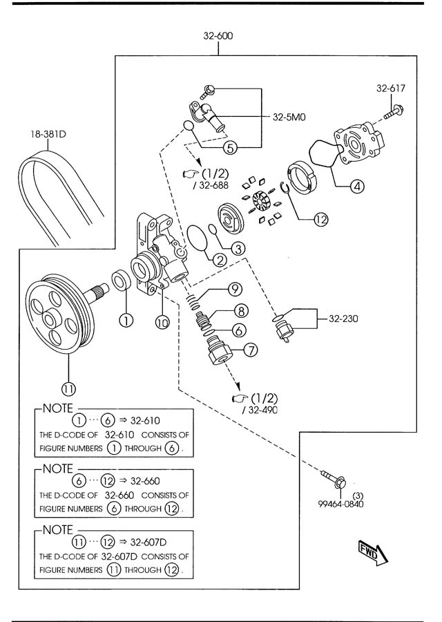 Service manual [2009 Mazda Cx 9 Power Steering Hose