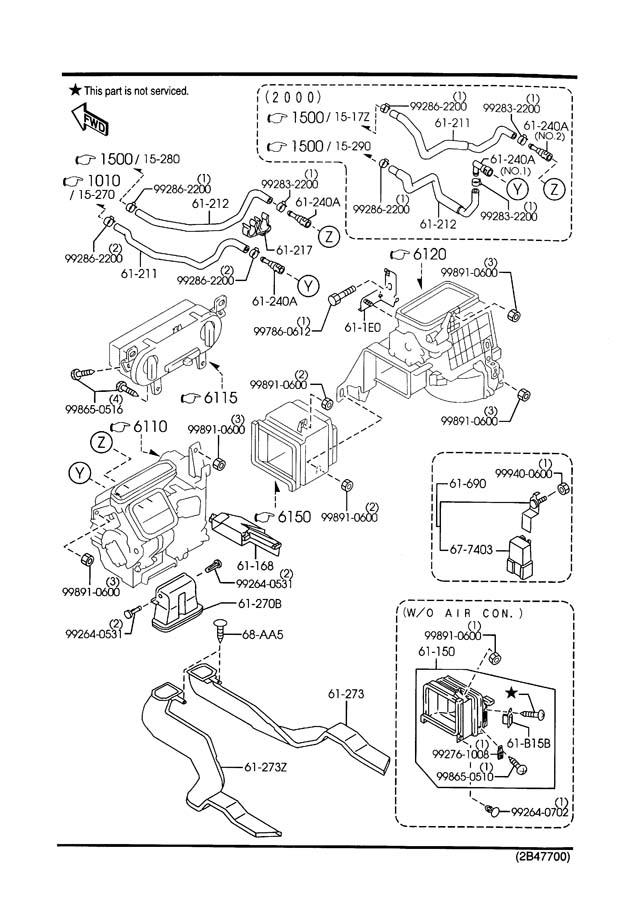 2002 Mazda Protege5 Engine Diagram : Mazda Protege5