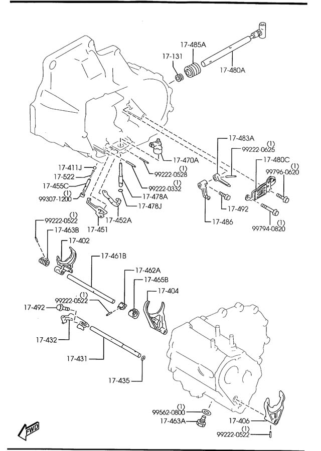Service manual [Transmission Control 2009 Mazda Mx 5