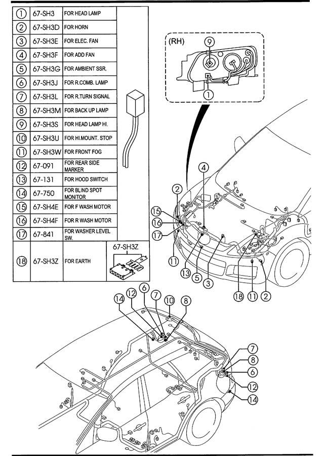 2007 Mazda Cx 7 Fuse Box Diagram : Mazda Cx 9 Fuse Box