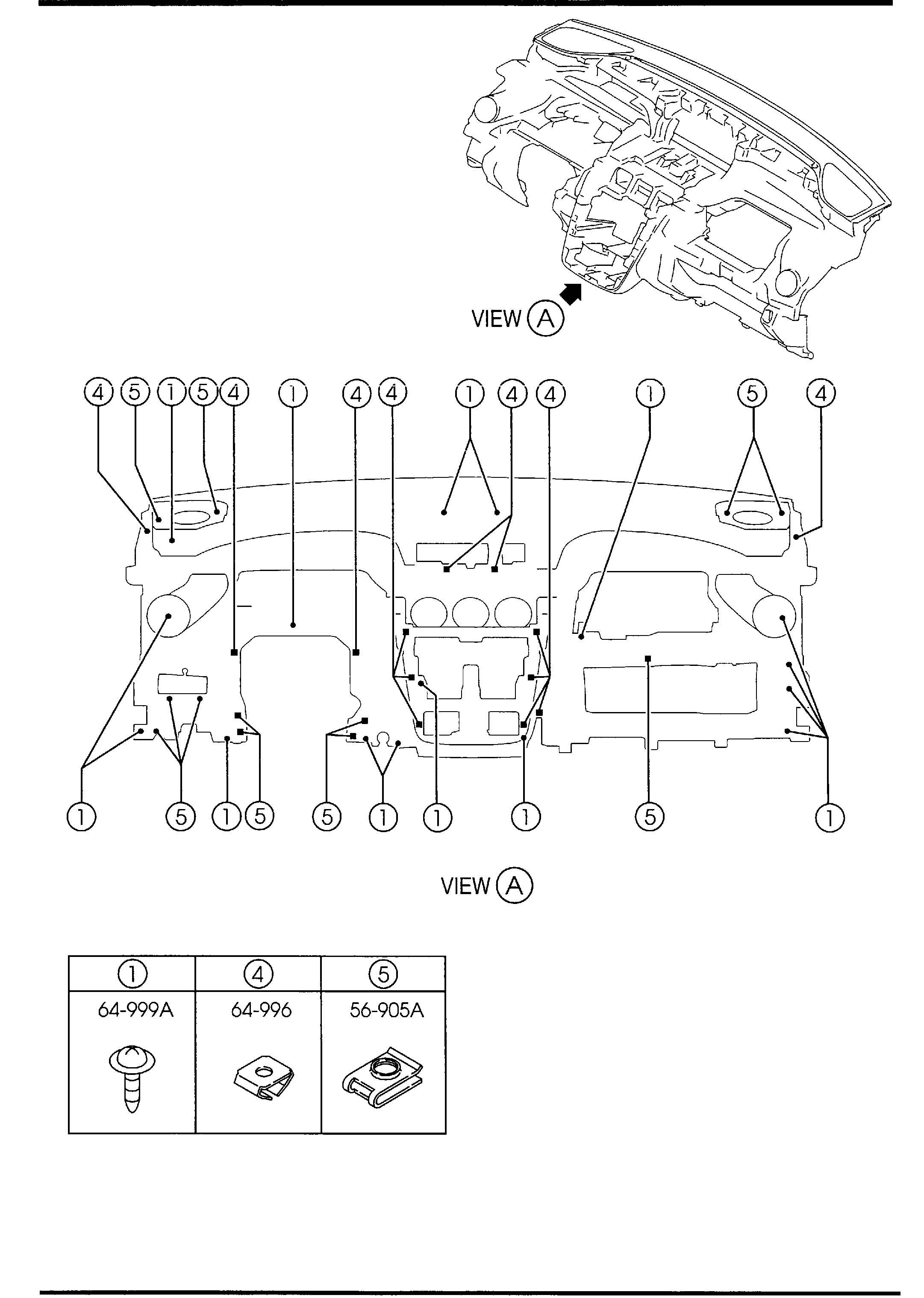Service manual [2012 Mazda Mx 5 Dash Removal Diagram