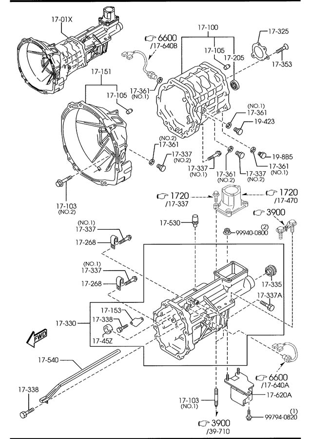[DIAGRAM] 2001 Mazda 626manual Transmission Diagram FULL