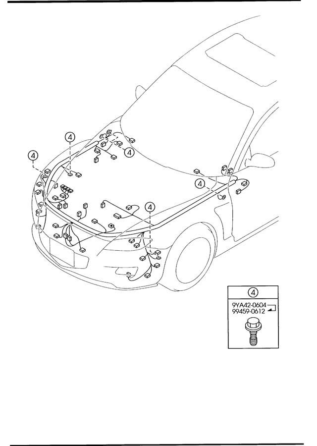 Xh Stereo Wiring Diagram : 1989 Mazda Antenna FeedER
