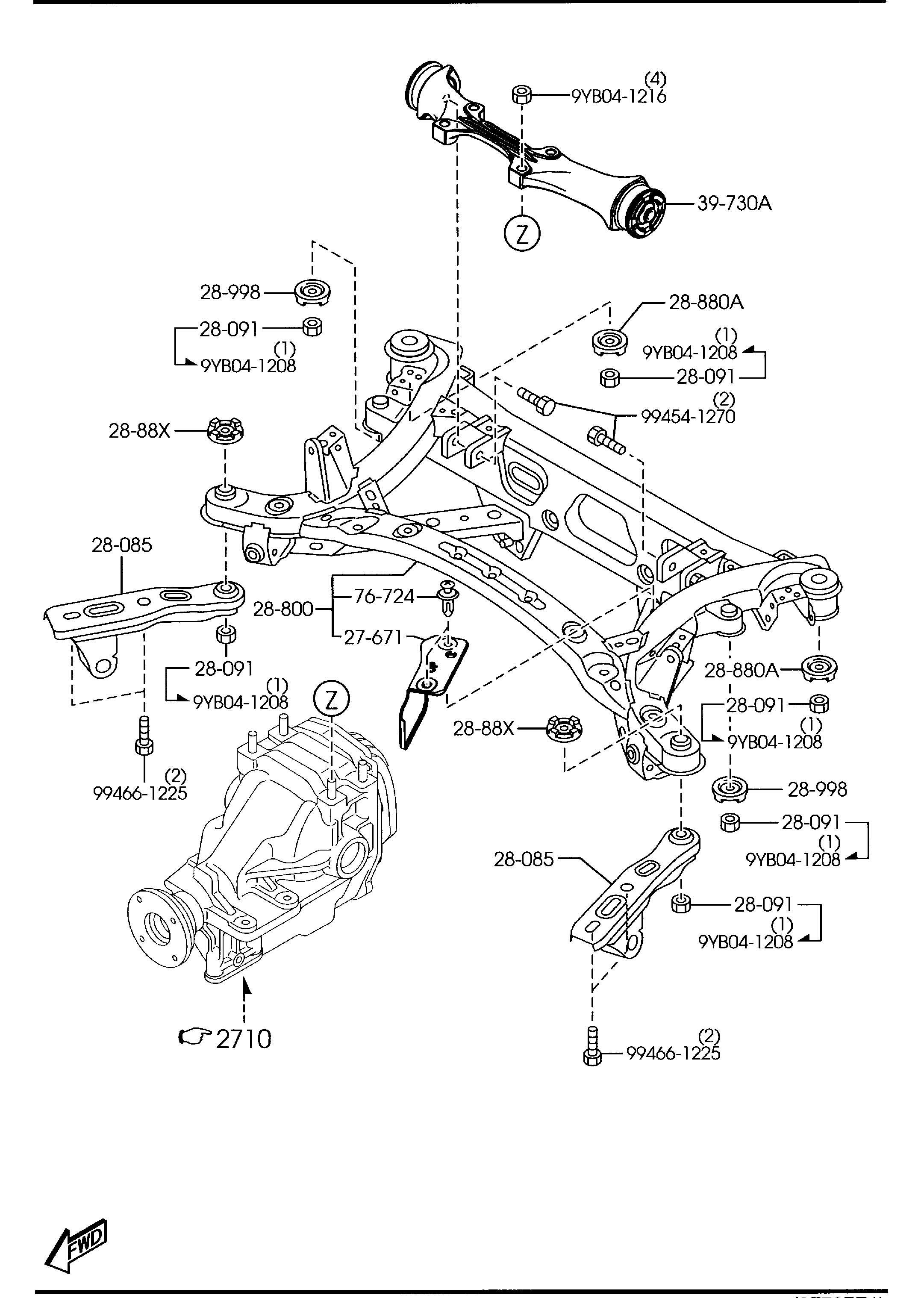 Mazda Rx 8 Nut Arms Wawd Struts Shocks