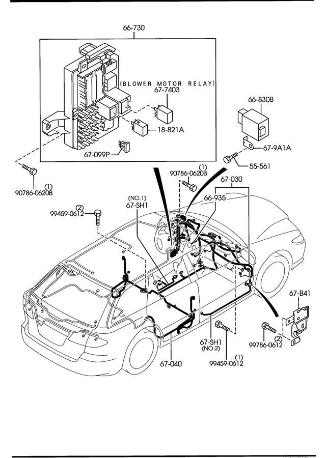 [DIAGRAM] Wiring Diagram 05 Mazda 6 FULL Version HD