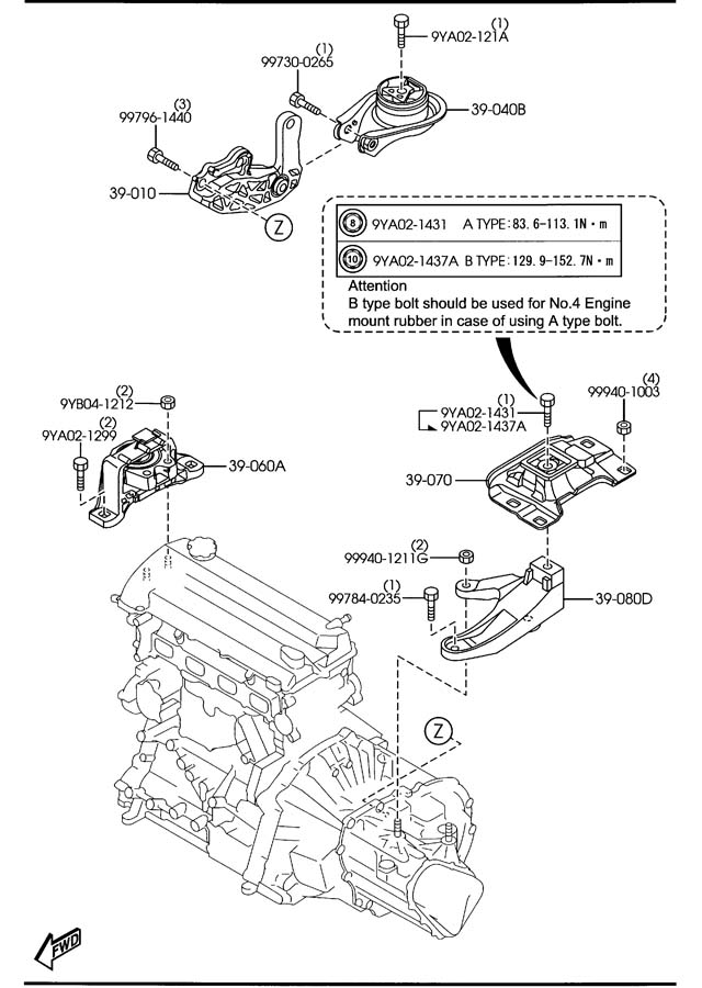 Service manual [Transmission Control 2008 Mazda B Series