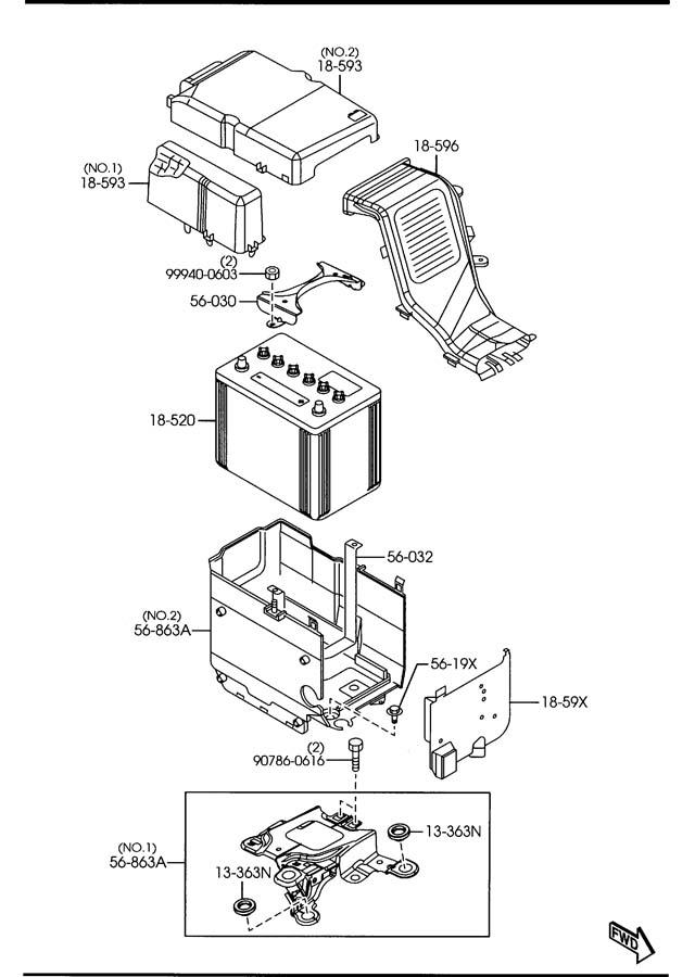 Mazda Mazda 3 Battery. Panasonic, selection, supplier