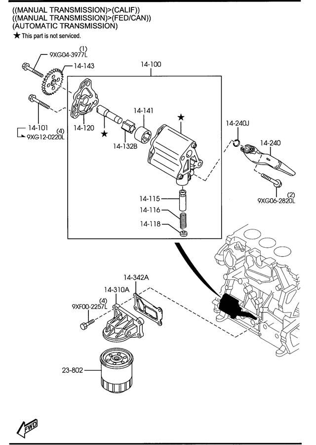 Mazda Mazda 3 Cooler, oil w/seal. Transmissionmexico