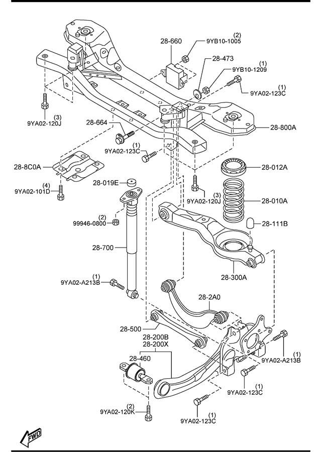 2012 mazda 5 engine diagram