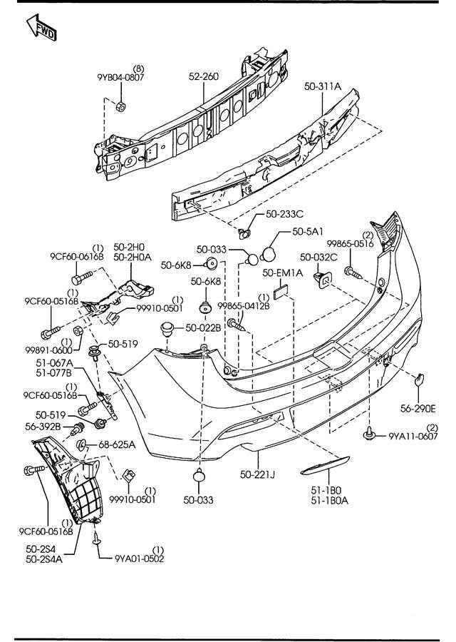 mazda mx6 radio wiring diagram