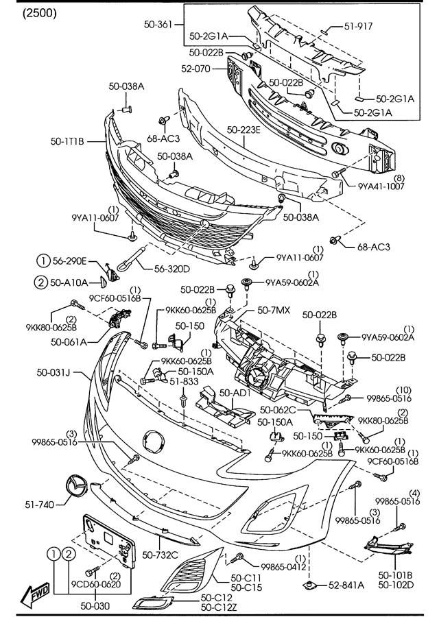 2006 Smart Fortwo Fuse Box Diagram