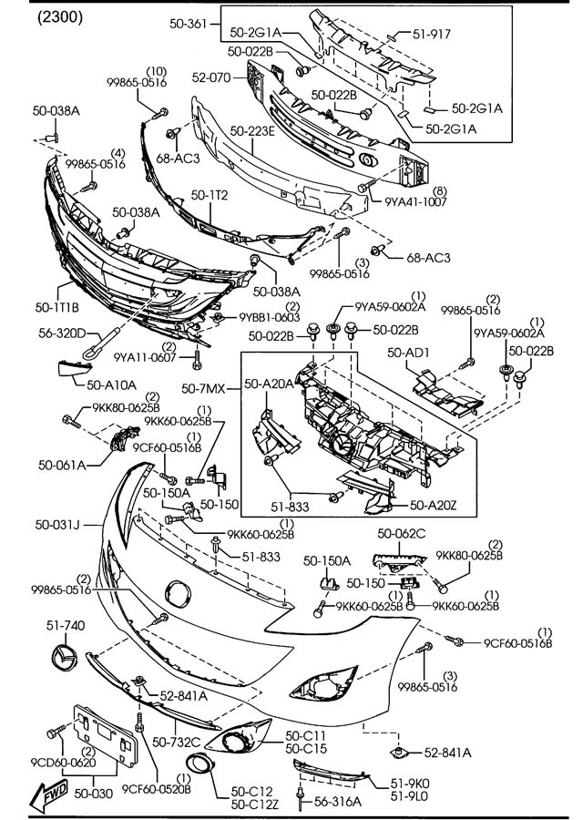 Mazda Parts Diagram, Mazda, Free Engine Image For User