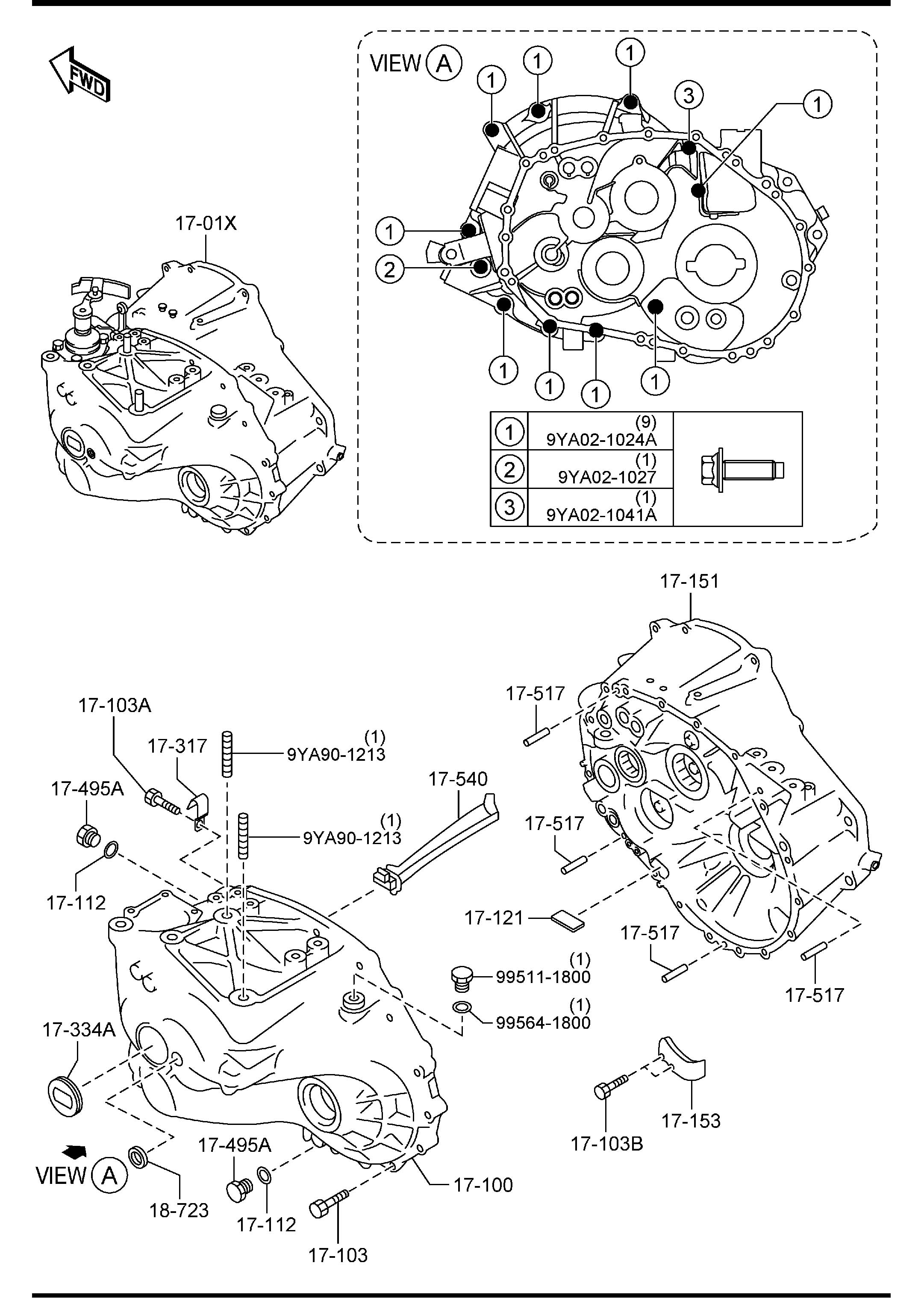 Mazda Transmission Parts Diagrams • Wiring Diagram For Free