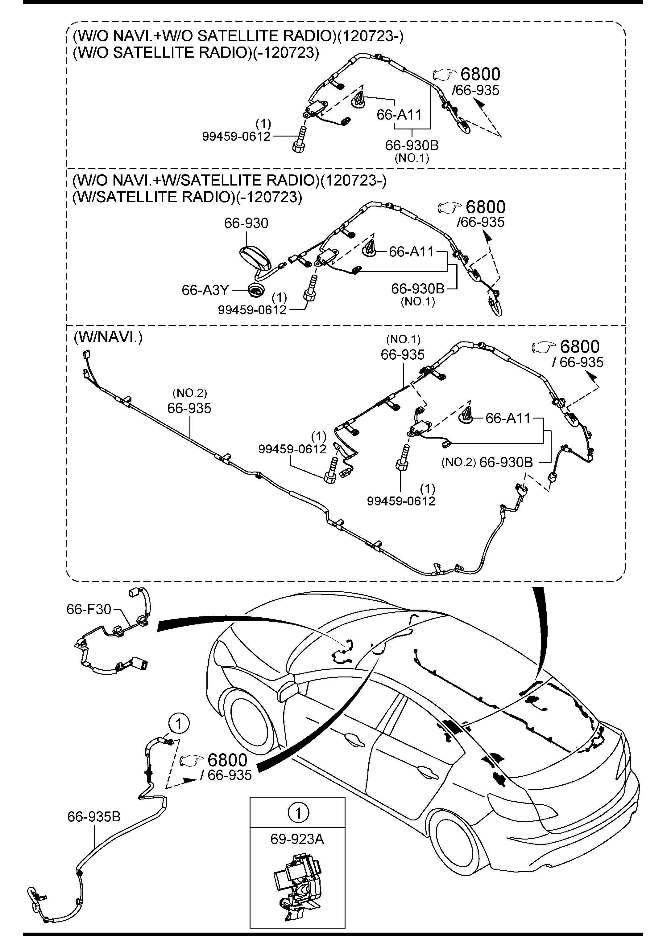 2012 Mazda Mazda 3 Radio Antenna Mast. ReplacebbrGot