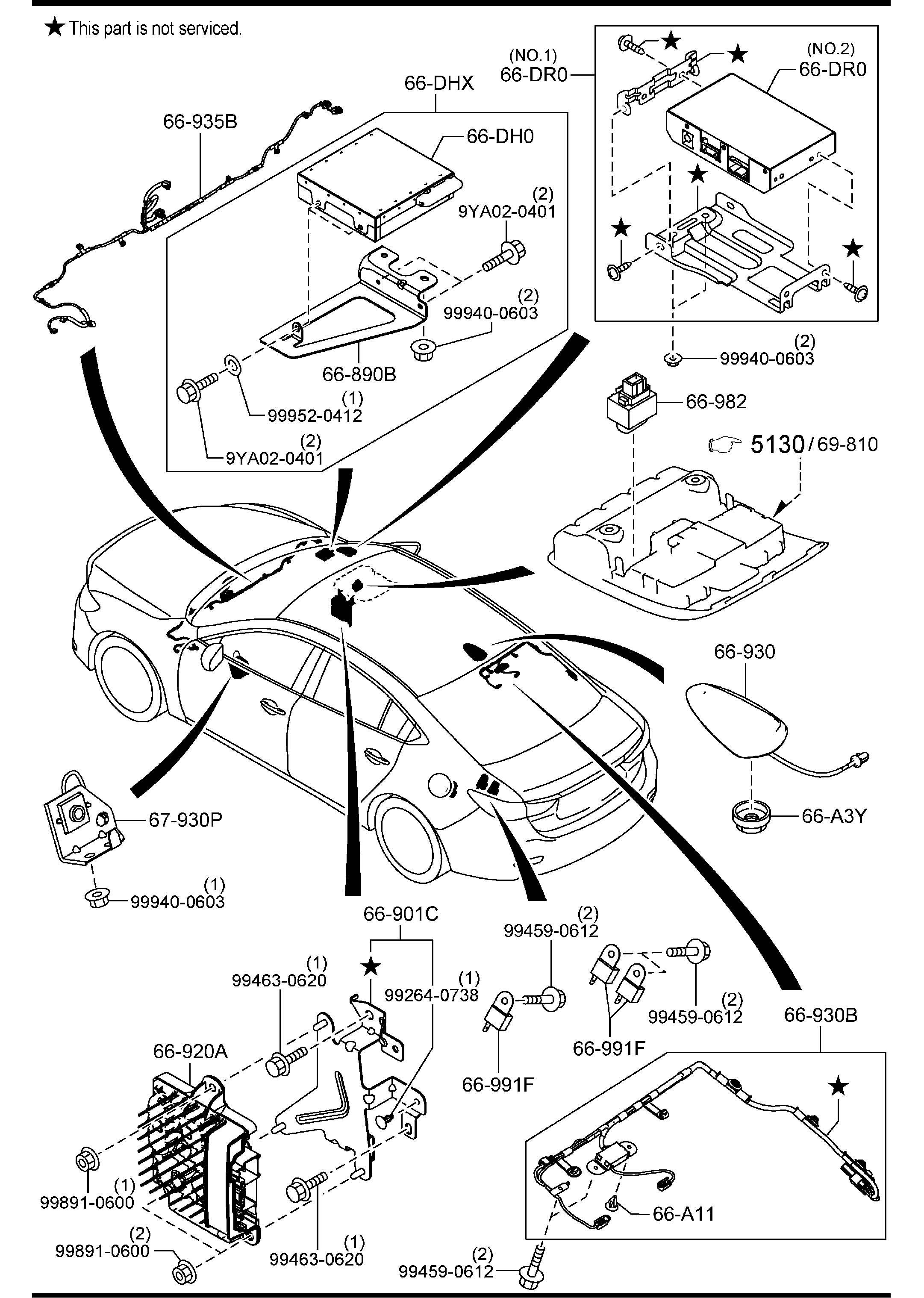 Mazda Mazda 6 Speaker Loud