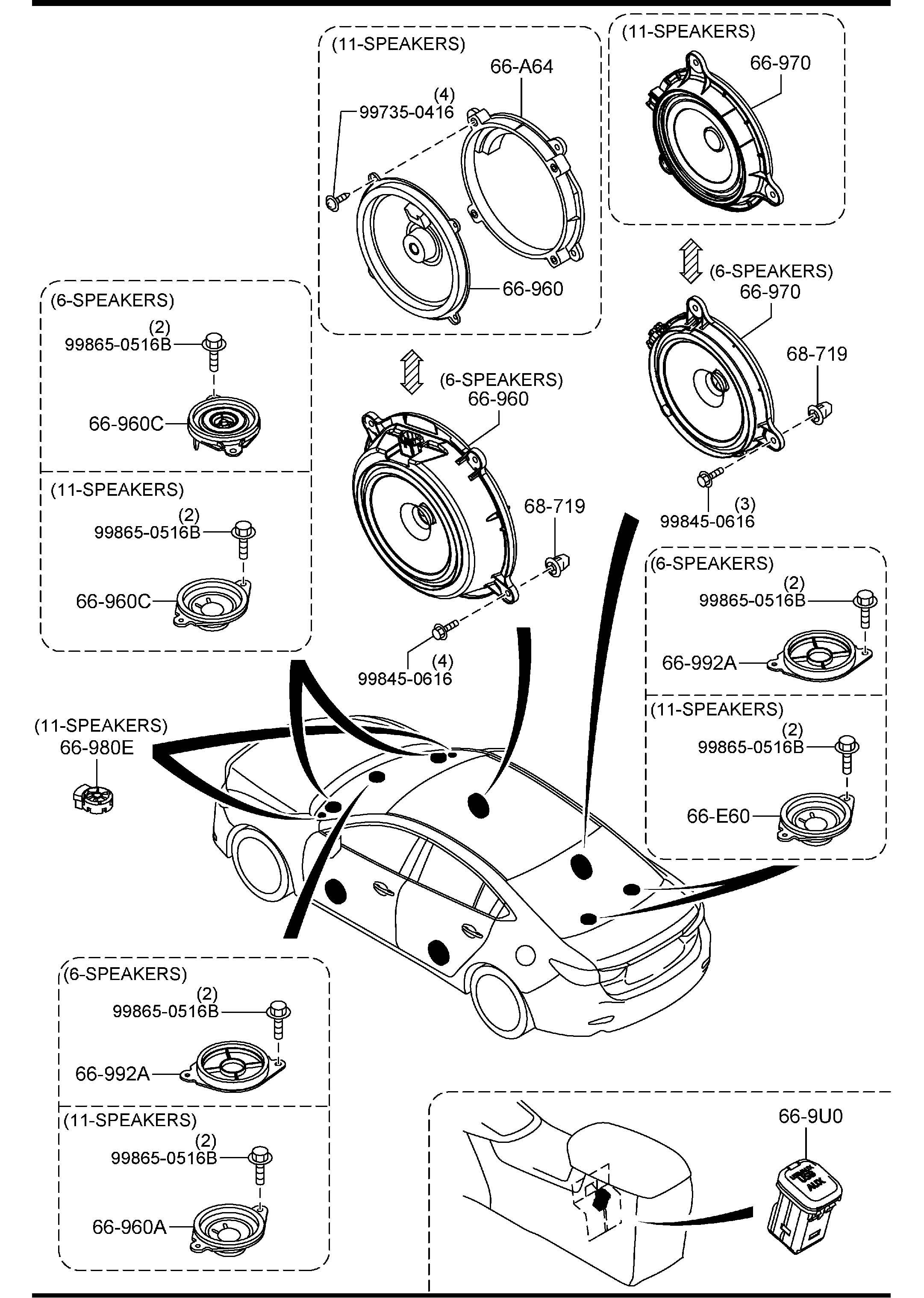 2004 mazda 6 bose subwoofer wiring diagram origami eagle instructions system  idée d 39image de voiture