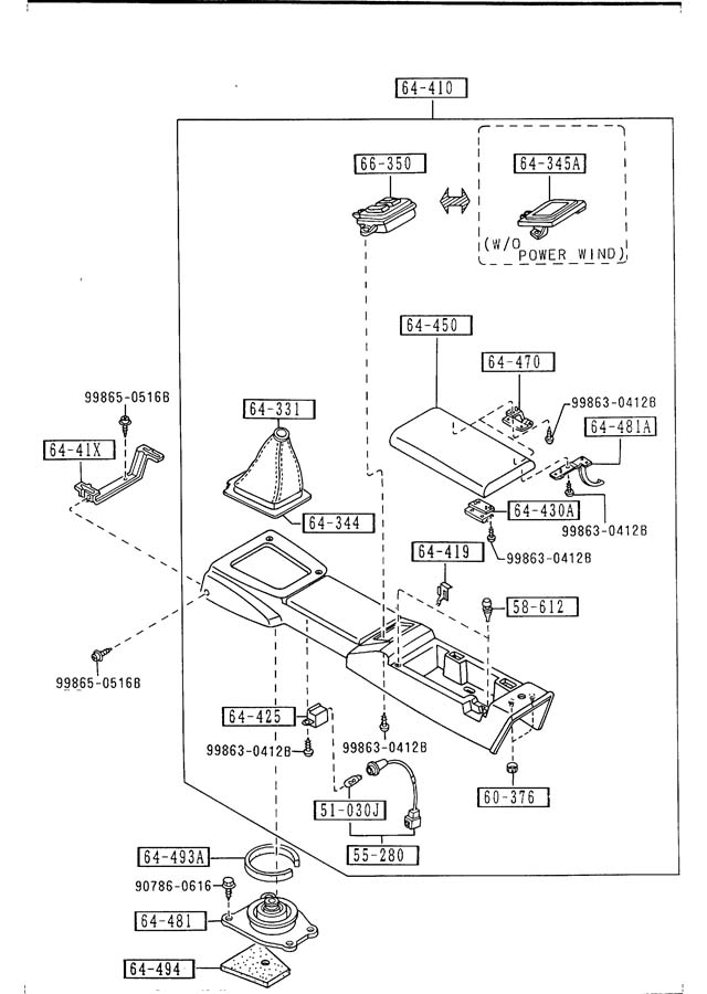 1990 Mazda Miata Insulator gasket. PACK, SILENT. Shift