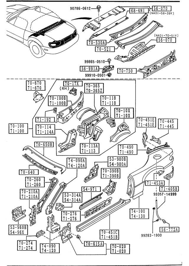 [DIAGRAM] Driver Side Fuse Panel Diagram For 1992 Miata