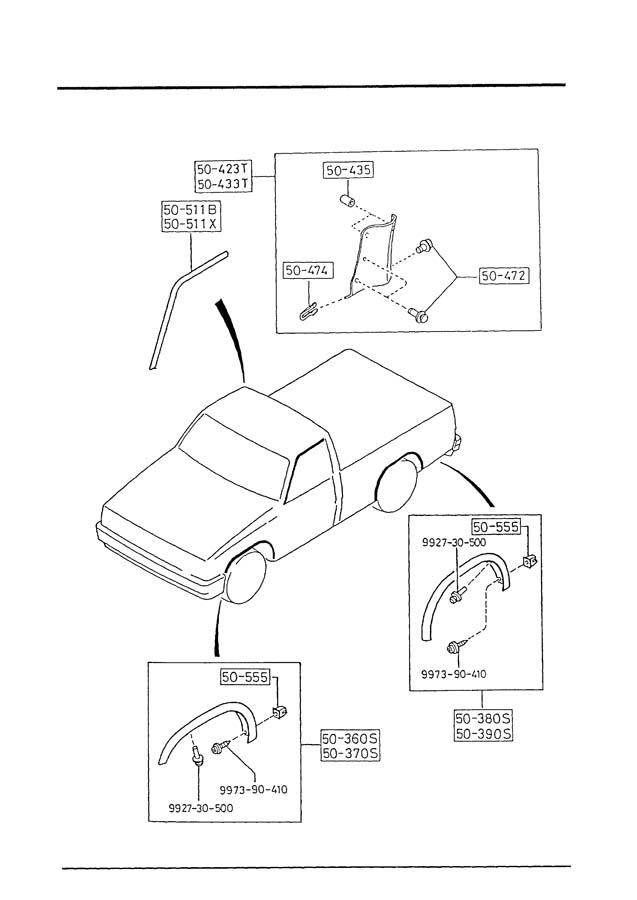 1991 Mazda B2200 Vacuum Diagram. Mazda. Auto Wiring Diagram