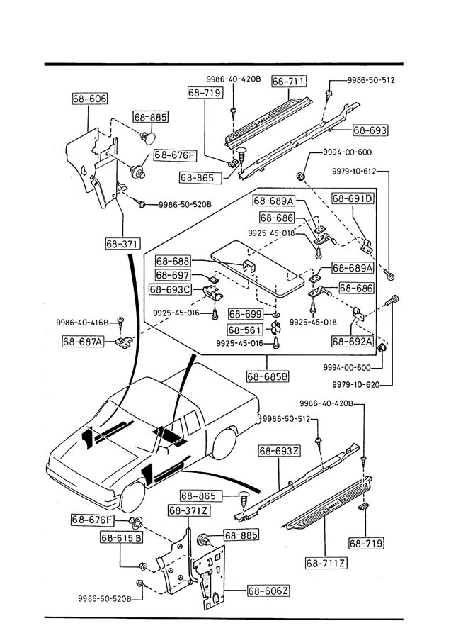 1990 Mazda B2200 Fuse Box Diagram Land Rover Discovery