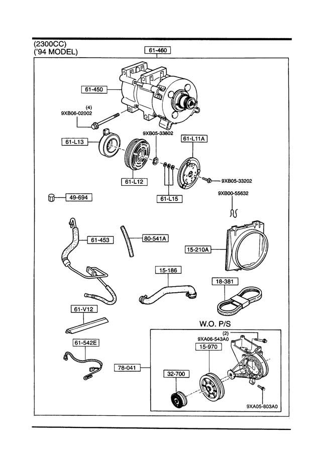 Mazda B-Series Armture, mag. Clutch. Dealer, installed