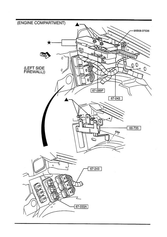 Service manual [1992 Mazda B Series Plus Wiring Harness