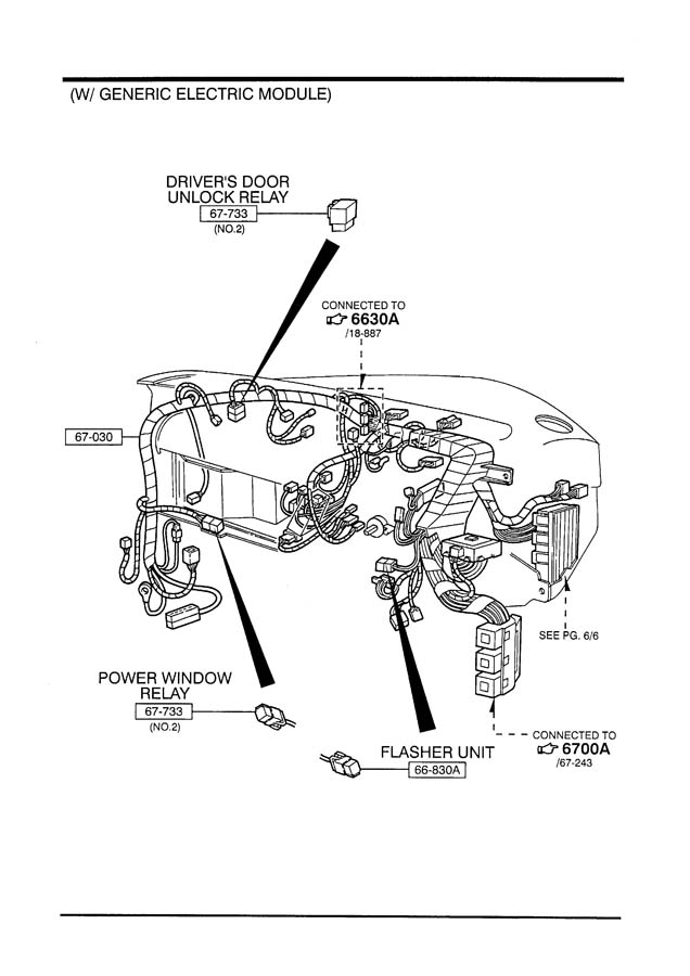 mazda b series wiring diagram