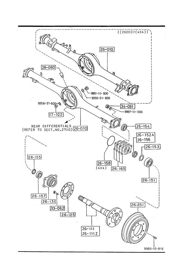 1986 Mazda B2000 Engine Diagram : 1986 Mazda B2000 Wiring
