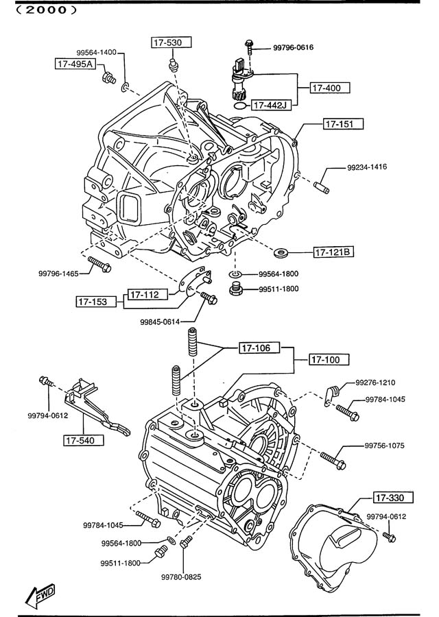 2000 Mazda Protege Fuse Box Diagram : 35 Wiring Diagram