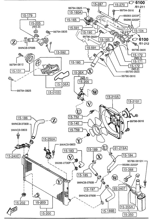 2001 Subaru Legacy Wiring Diagram And Engine Electrical System