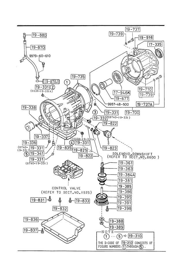 Service manual [Transmission Control 2008 Mazda B Series