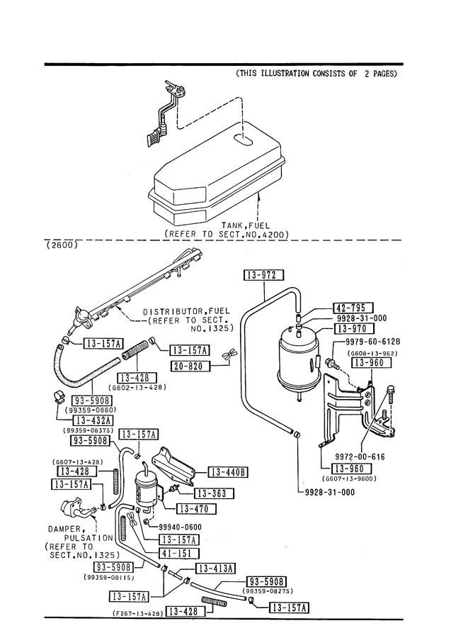 Mazda B2200 Fuel Filter, Mazda, Get Free Image About