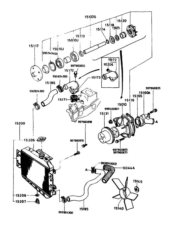 2003 Mazda Miata Gasket. Thermostat. Engine. Coolant