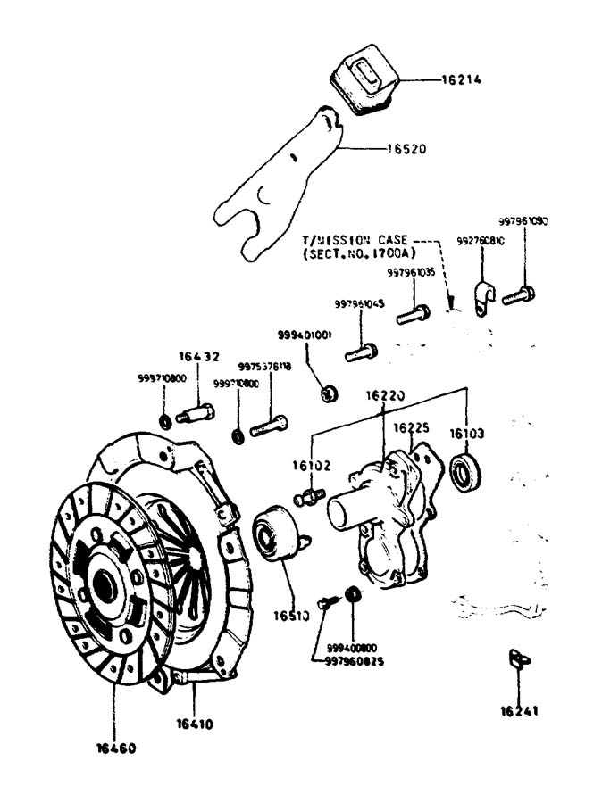 2012 Mazda Mazda 6 Manual Transmission Input Shaft Seal