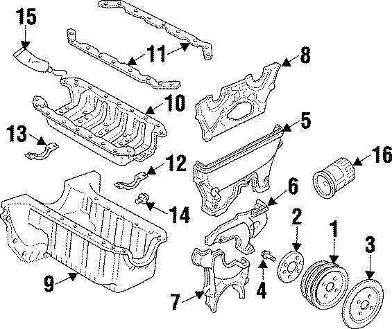 1999 Mazda Miata Engine Oil Drain Plug. 1.8 LITER. Plugs