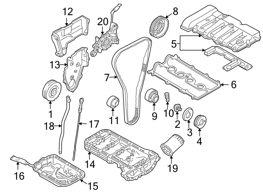 2002 Mazda Protege Engine Oil Dipstick. 1.8 LITER. 2.0