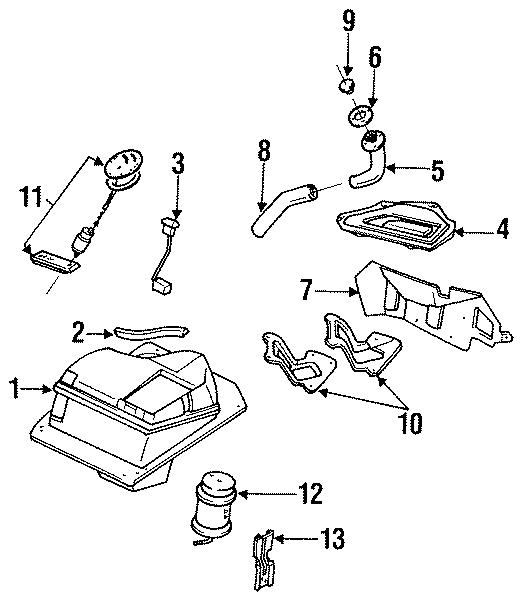 1990 Mazda Miata Fuel tank. Manual trans. Miata mx5; auto