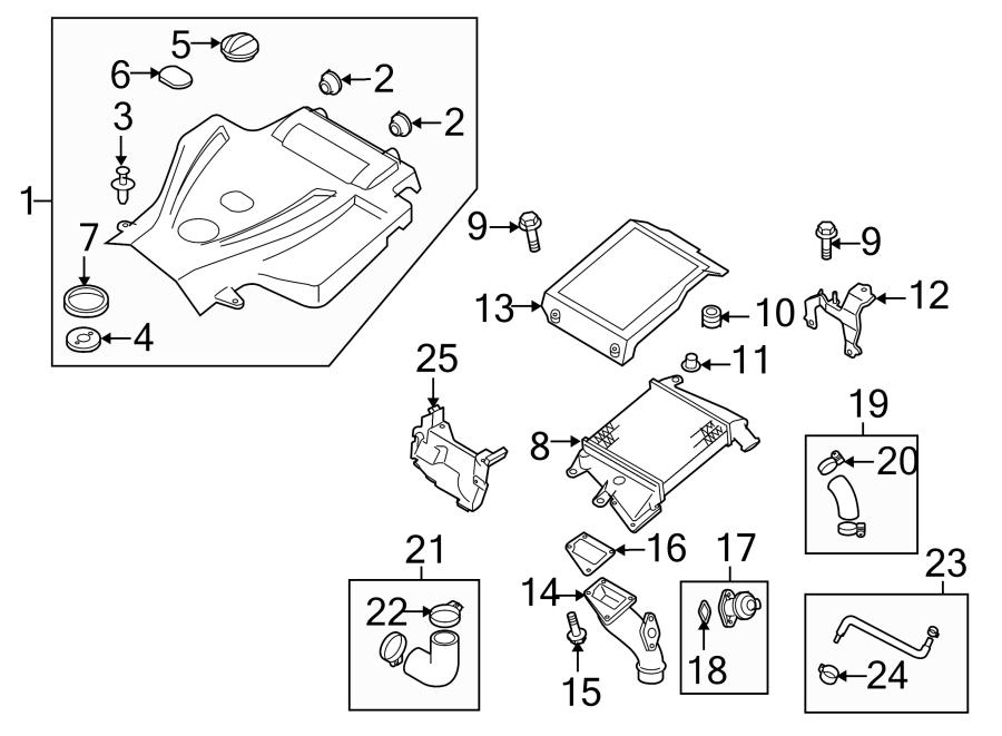 2007 Mazda CX-7 Turbocharger Wastegate Actuator. 2.3 LITER