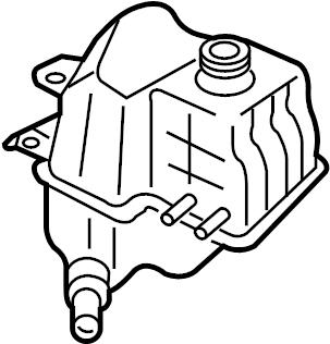 Mazda Mazda 3 Engine Coolant Reservoir (Right